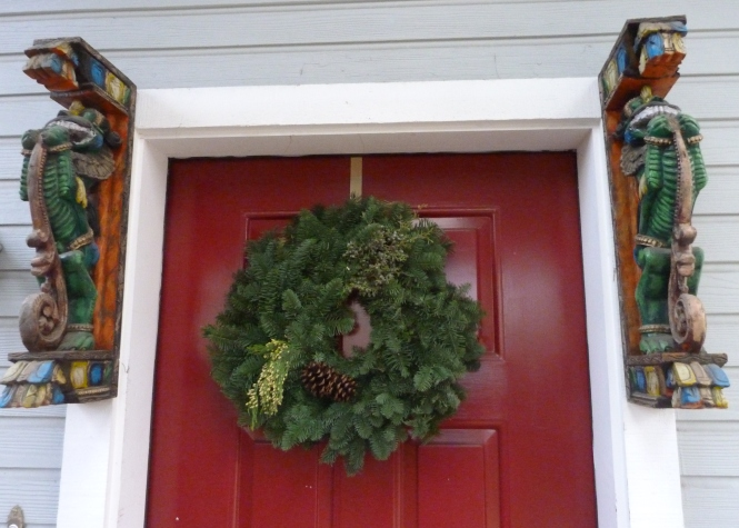 A Simple Wreath This Year